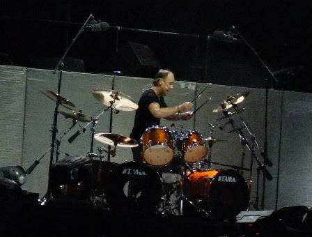 Lars Ulrich from Metallica in Hockenheim