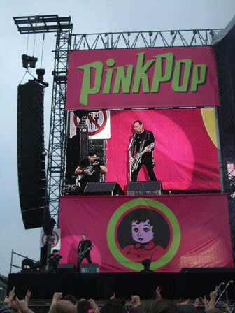 Metallica Live at the Pinkpop Festival, Landgraaf, The Netherlands, May 30 2008
