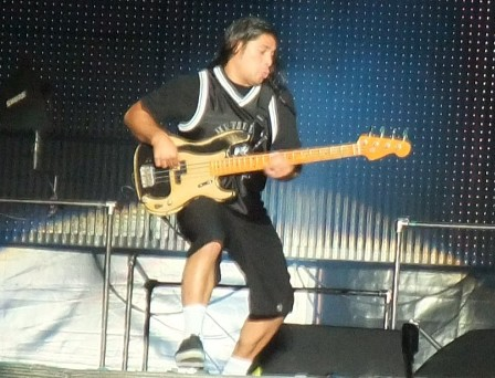 Robert Trujillo at Sonisphere Festival Bucharest