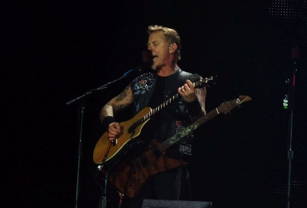 James playing The Unforgiven