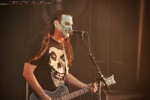 Hellfest Open Air: Dez Cadena from The Misfits in France