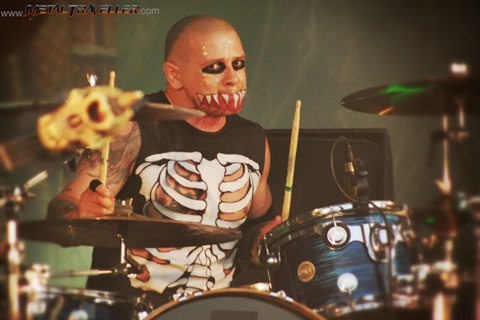 Eric Chupacabra Arce from The Misfits - Hellfest Open Air