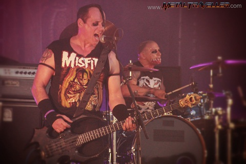 Jerry Only and Eric Arce - The Misfits live in Clisson