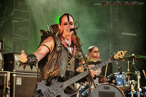 Jerry Only from The Misfits live in Clisson