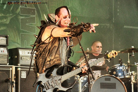 The Misfits - Jerry Only live at Hellfest Open Air Festival in France