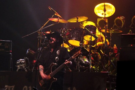 Lemmy from Motörhead at the Zénith in Paris France