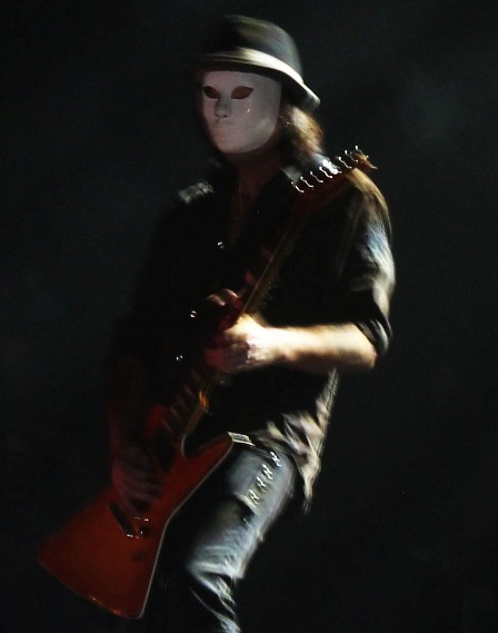 Who's The Man Behind The Mask? Jason? The Phantom of the Opera? Or Phil Campbell?