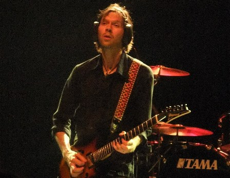 Paul Gilbert from Mr Big live in concert