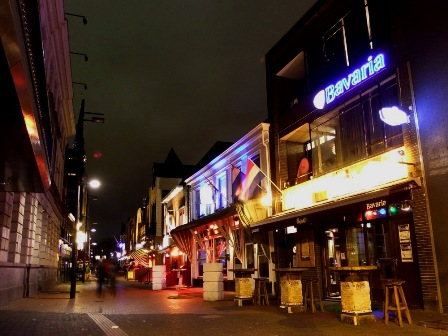 Eindhoven by night, Limburg, The Netherlands