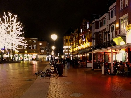 The Markt, or Market Square in Eindhoven, The Netherlands