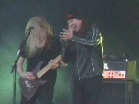 Warrel Dane and Jeff Loomis - Nevermore live in Clisson