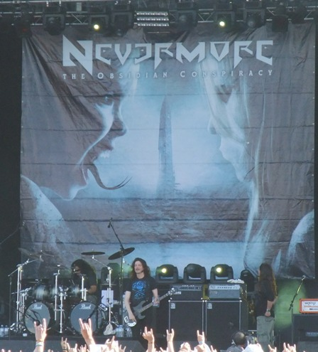 Nevermore live in Clisson