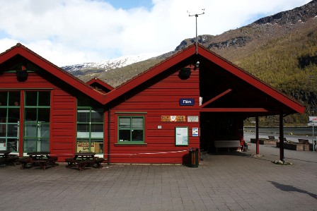 Flåm train station