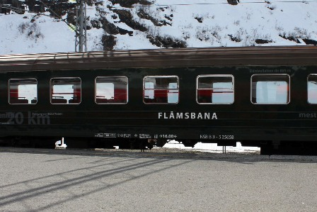 The Flåmsbana in Myrdal: the adventure begins