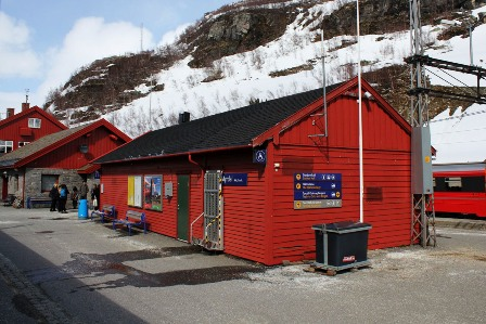 The station in Myrdal, Norway