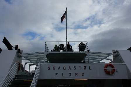 On board the Skagastøl ship from Florø. Sailing to Gudvangen