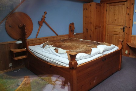 Sleep like a viking at Gudvangen Fjordtell