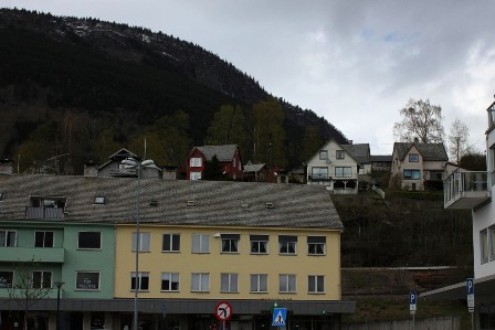 The town of Voss