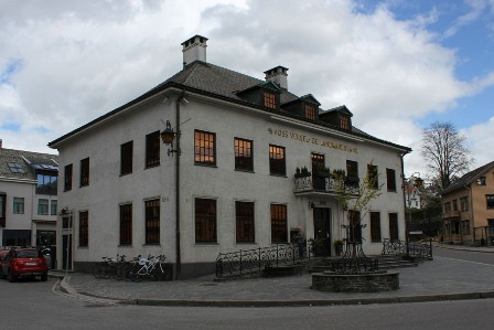 An old building in Voss