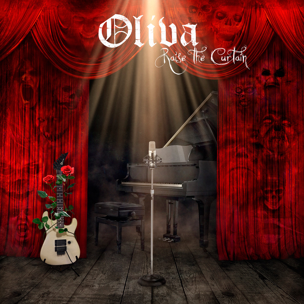 Oliva Raise The Curtain album cover