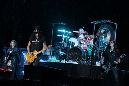 Geezer Butler, Slash, Tony Clufetos and Gus G. - Ozzy & Friends at the Hellfest