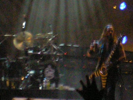 Zakk Wylde playing with Ozzy at Graspop Festival