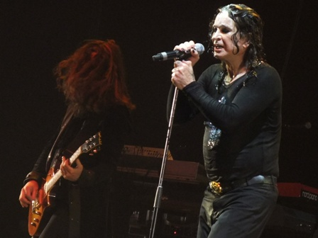 Ozzy Osbourne live in Paris