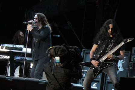Ozzy and Gus G. live at Hellfest