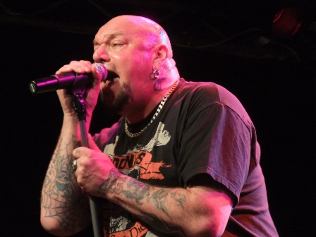 Paul Di Anno live at The L'Orange Bleue