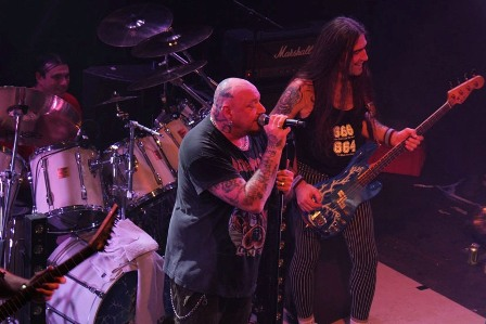 Coverslave and Paul Di Anno live in Paris