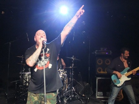 Paul Dianno live in France with Sylvain Terminiello