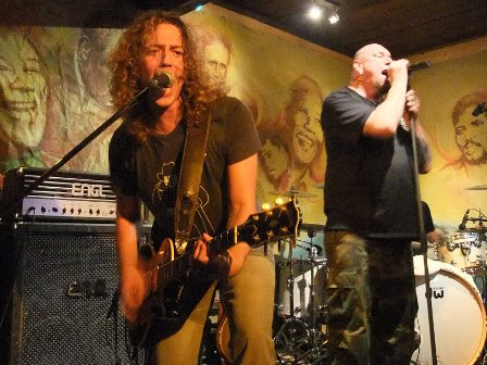 Paul Di Anno and Stéphane Honde live in Santeny, near Paris 2010