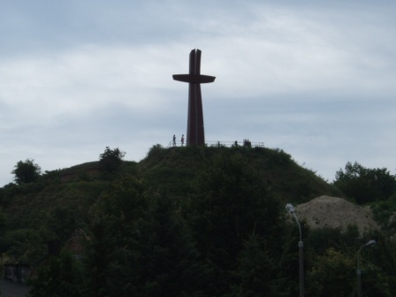 The Millenium Cross in Gdańsk