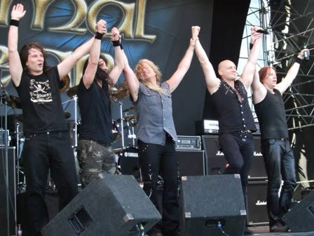 Thanks to all! Primal Fear Sweden Rock 2008