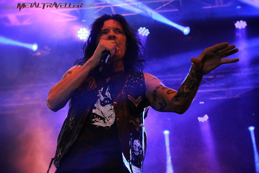 Jizzy Pearl from Quiet Riot, live in Colombia