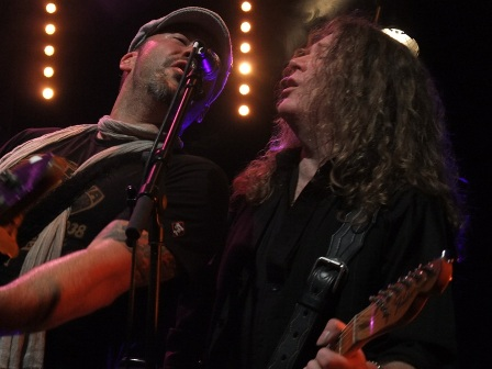 Paul Guerin and Guy Griffin from The Quireboys- Live in Paris - October 9 2009