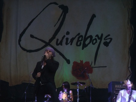 The Quireboys live at the Bang Your Head