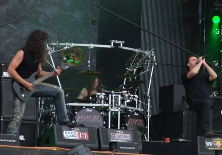 Eric Peterson with Rage in Wacken