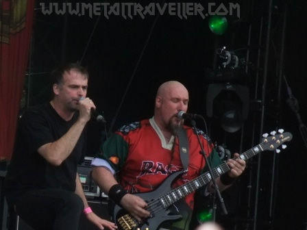 Chuck Billy and Alex Skolnick live in Wacken