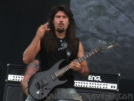 Chuck Billy and Paul Bostaph from Rage live at Wacken Open Air