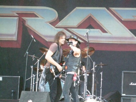 Warren DeMartini and Stephen Pearcy - Ratt Live at the Sweden Rock Festival 2008