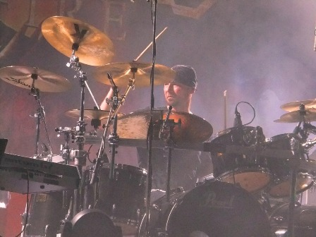Alex Holzwarth on drums with Rhapsody Of Fire