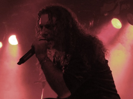 Fabio Lione singing with Rhapsody Of Fire in Paris