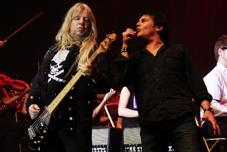 Mat Sinner and Jimi Jamison at the Rock Meets Classic