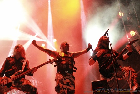Sabaton live at Hellfest in Clisson