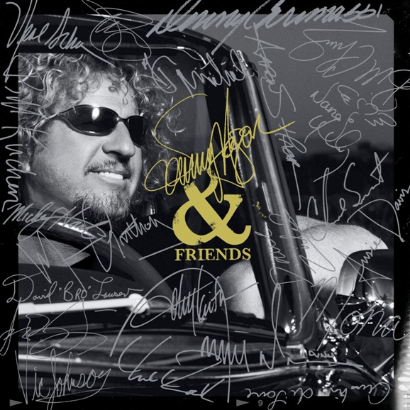 Sammy Hagar Sammy Hagar & Friends album cover