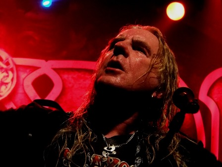 Saxon Call To Arms live in Paris