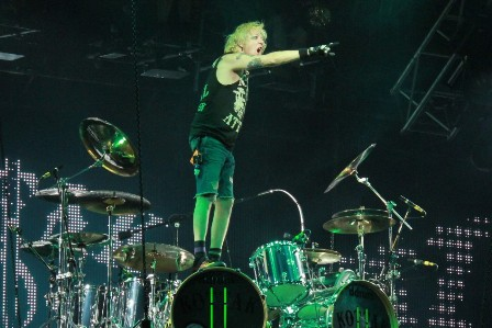 James Kottak live with The Scorpions