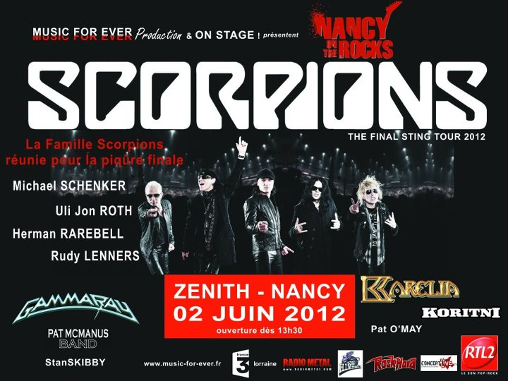 Nancy On The Rocks - The announced Scorpions reunion