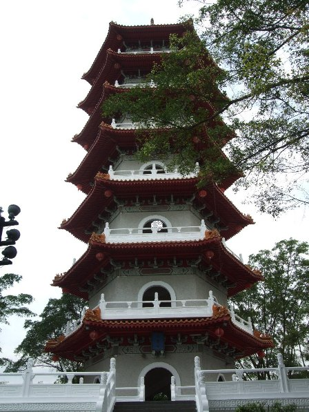 Tower at the hinese gardens, Singapore